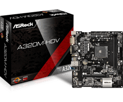Asrock A320M HDV for AMD Socket AM4