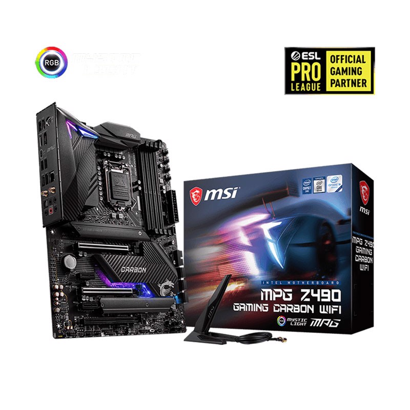 MSI MPG Z490 GAMING CARBON WIFI