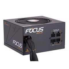 Nguồn Seasonic Focus Gold 550W - Semi Modular 80 Plus Gold