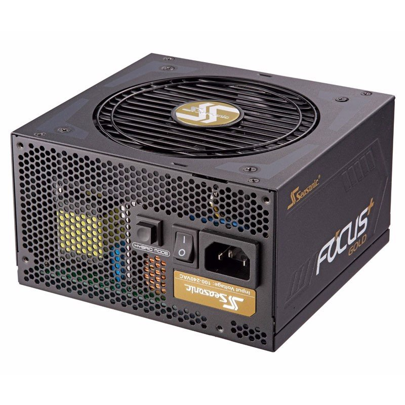 Nguồn Seasonic Focus Plus Gold 650W - Full Modular 80 Plus Gold