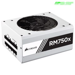 Nguồn Corsair RM750X White - 80 Plus Gold - Full Modul