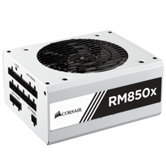 Nguồn Corsair RM850X White 80 Plus Gold - Full Modul