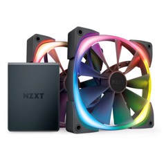 NZXT AER RGB 2 Started Kit 2 Fan 140mm + Hue 2 Controller