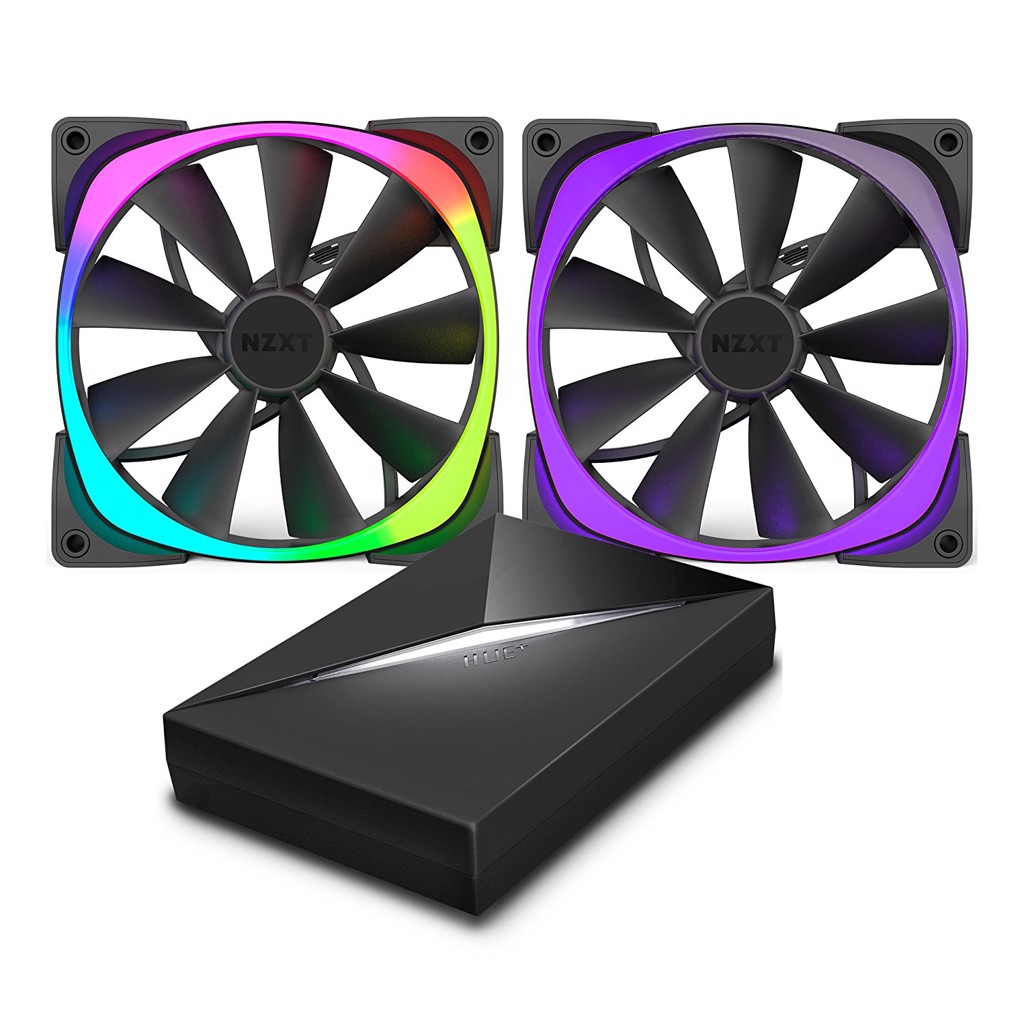 NZXT AER RGB 120MM KIT 2 FAN + HUE+