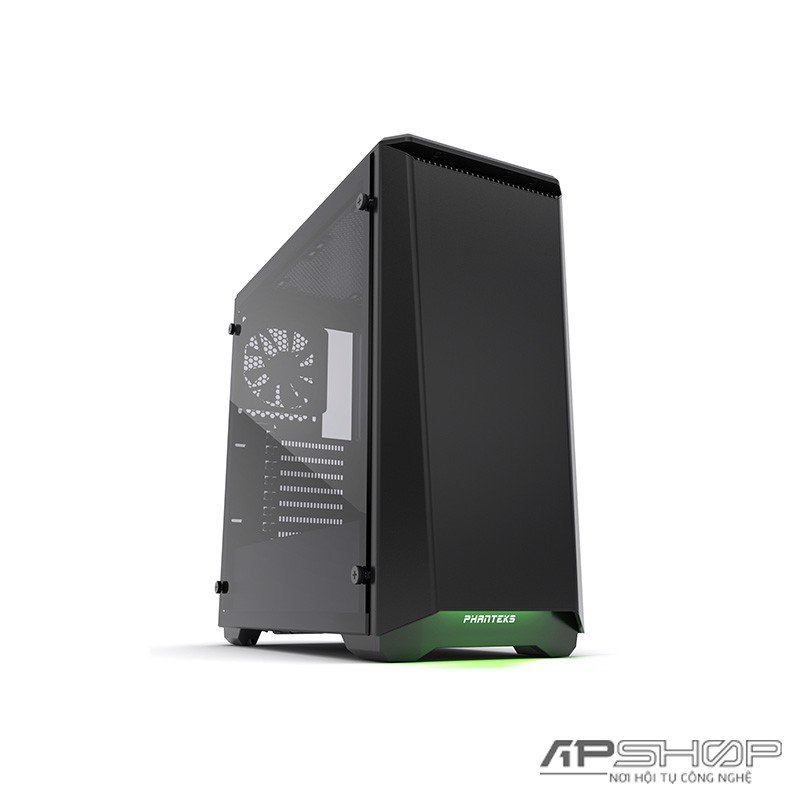 Phanteks Eclipse P400 Black Tempered Glass