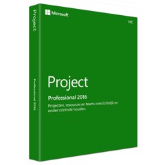 Project Pro 2016 32-bit/x64 English EM DVD