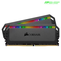 Ram Corsair Dominator Platinum RGB 16GB 2 X 8GB Bus 3200 Cas 16 - Intel và AMD