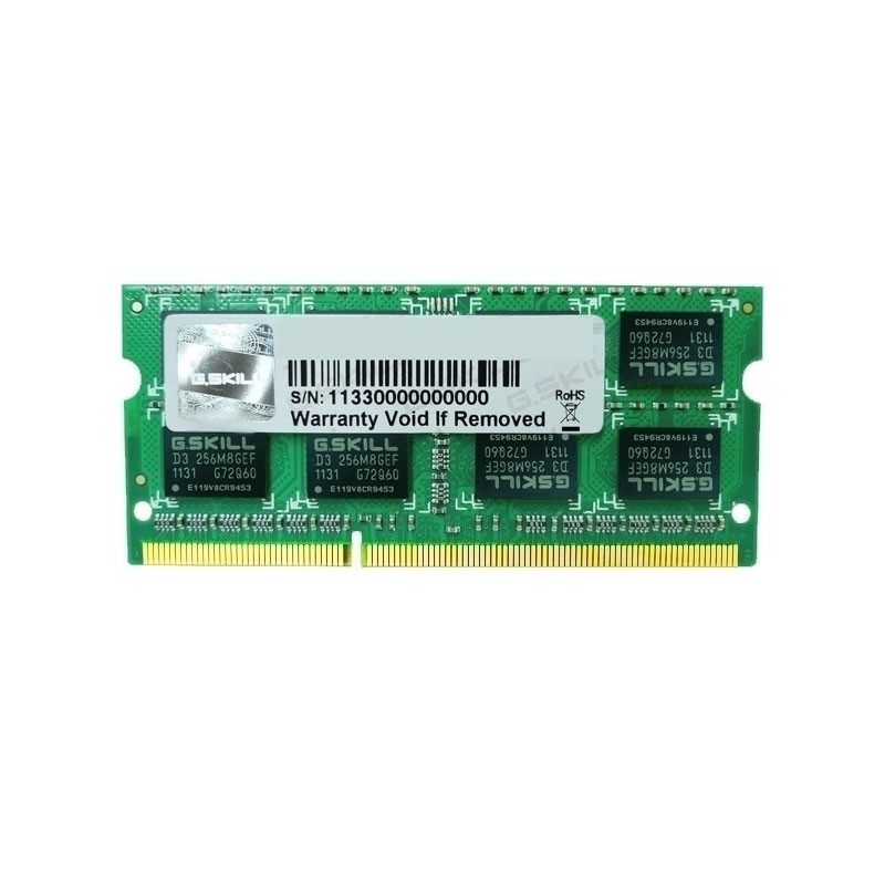 Ram GSKill Value 2GB Bus 1600 DDR3 for Laptop