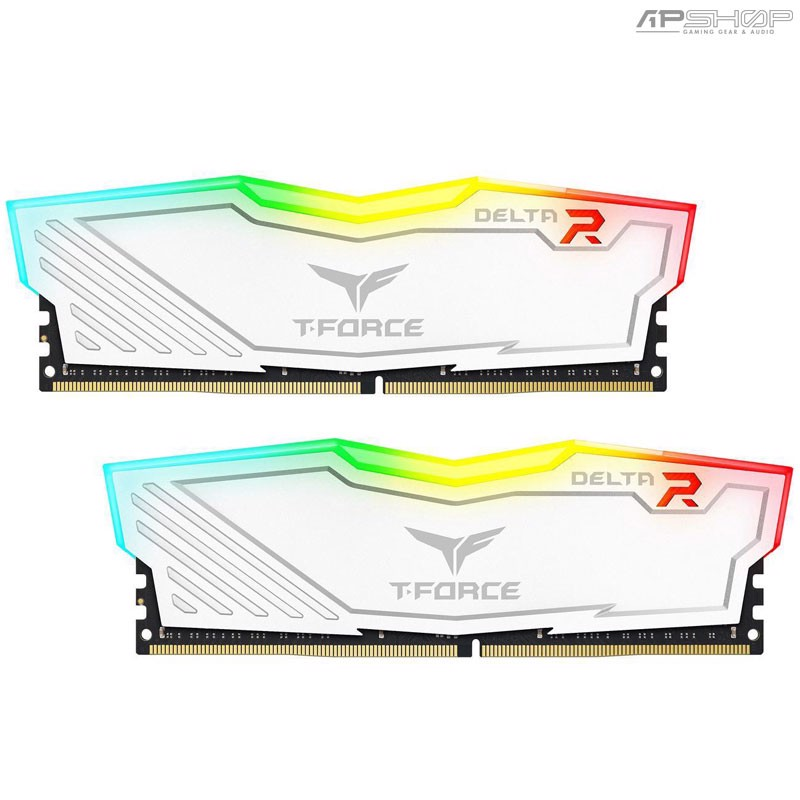 Ram Team T-Force Delta RGB 16GB 2x8GB Bus 3000 White