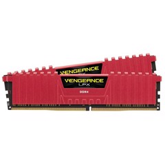 Ram Corsair Vengeance Red LPX DDR4 2 x 8GB 16G bus 2666 C16 for PC
