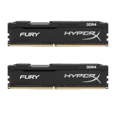 Ram Hyperx Fury 2x4GB 8GB Bus 2133 Black