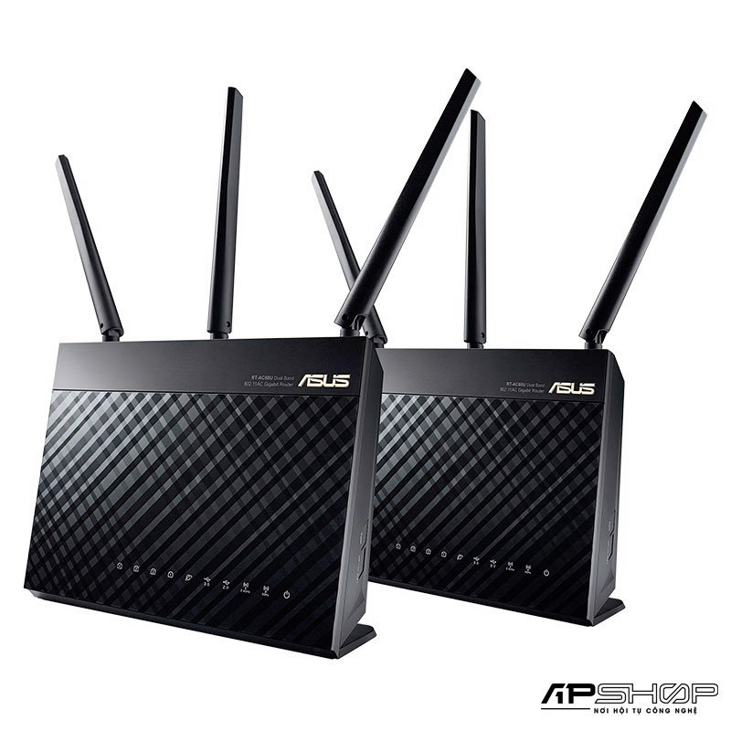 Router ASUS RT-AC68U ( 2 PACK ) - AiMesh AC1900