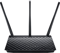 Router Wireless Asus AC750 (2.4Ghz 300Mbps+ 5GHz 433Mbps)