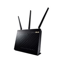 Router Wireless Asus AC1900 (2.4Ghz 600Mbps + 5GHz 1300Mbps)