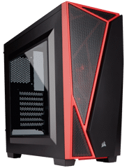 Case Corsair Spec 04 Black/Red