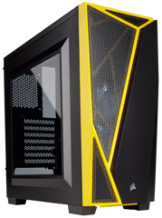 Case Corsair Spec 04 Black/Yellow