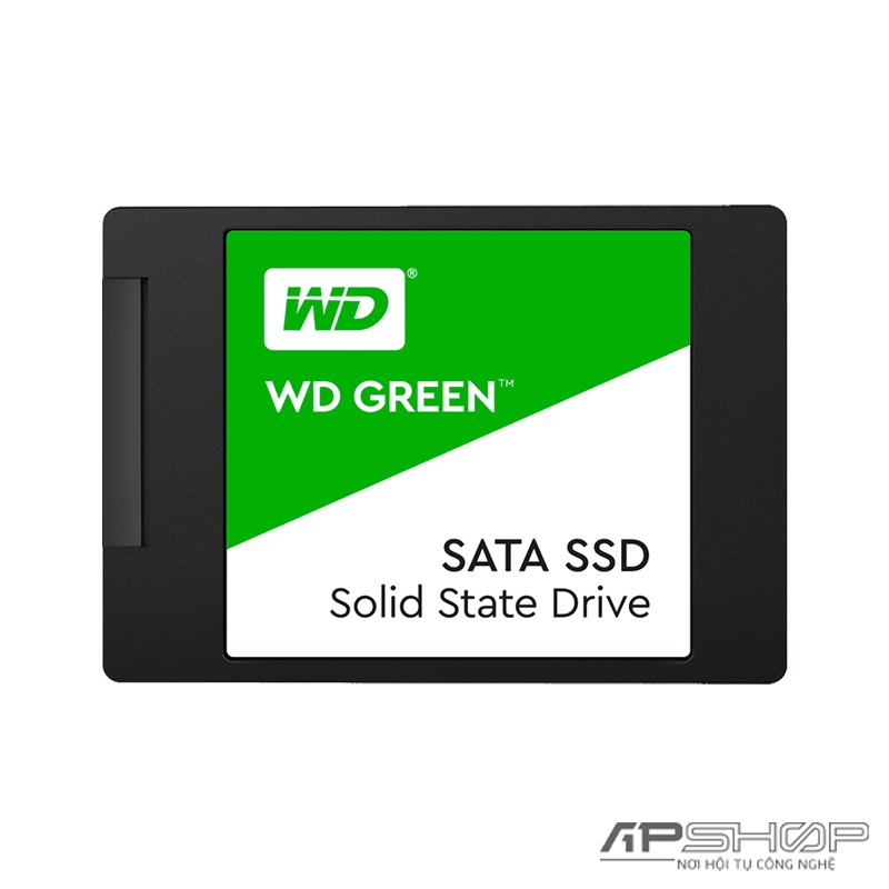 SSD Western Digital WD Green Sata 120GB