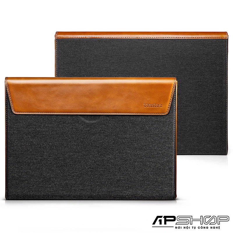 Túi Chống Sốc TOMTOC ( USA ) Premium Leather H15 For Macbook Pro 15