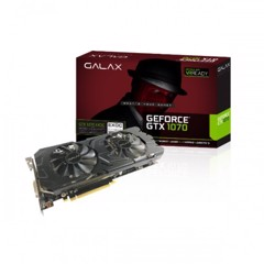 VGA Galax GTX 1070 Black EXOC 8GB 2 Fan