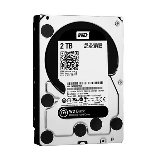 HDD Western 2TB 7200RPM Black