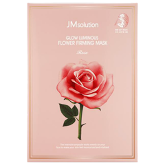 Mặt nạ giấy JM Solution Glow Luminous Flower Firming Mask Rose 30ml