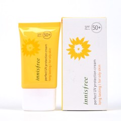 Kem Chống Nắng Innisfree Perfect Uv Protection Cream Long Lasting (For Oily Skin) SPF 50 PA +++ (50ml)