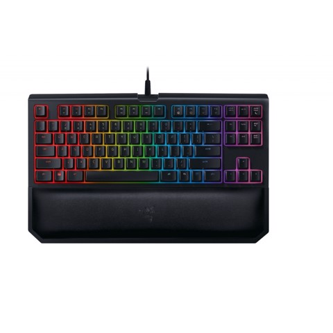 Bàn phím cơ RAZER BLACKWIDOW TOURNAMENT CHROMA V2 (Green - Yellow - Orange Switch)