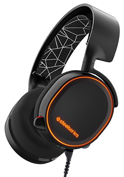 Tai nghe SteelSeries Arctis 5 Black
