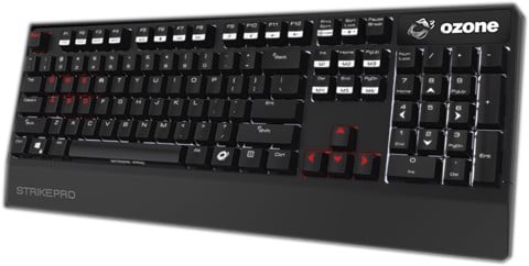 Bàn Phím Ozone Gaming - Strike PRO Red - OZSTRIKEPRORD