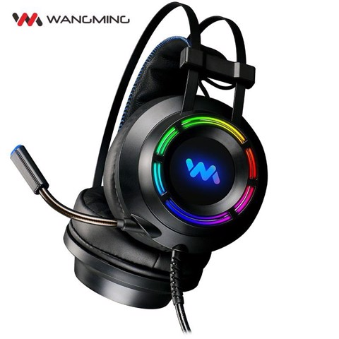 Tai nghe Wangming 9800 - 7.1 - USB led RGB