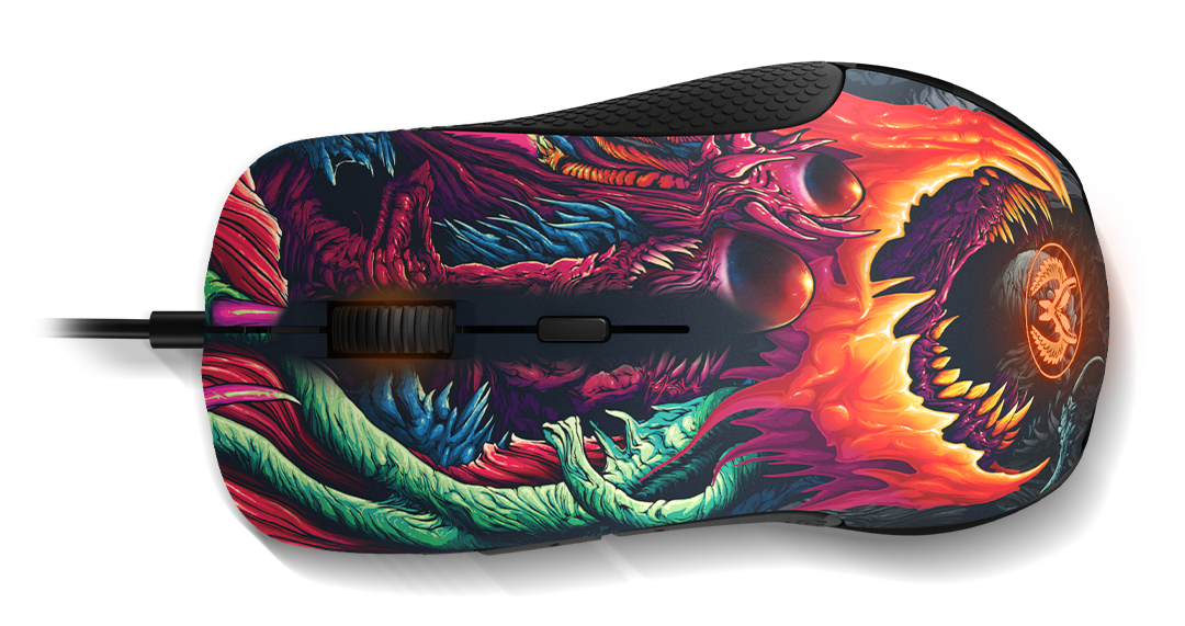 Chuột SteelSeries Rival 300 CS:GO Hyperbeast Edition 62363