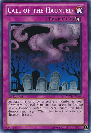 [ US ] Call of the Haunted - YSYR-EN042 - Common 1st Edition