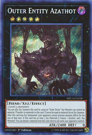 [ UK ] Outer Entity Azathot - SHVA-EN018 - Secret Rare 1st Edition