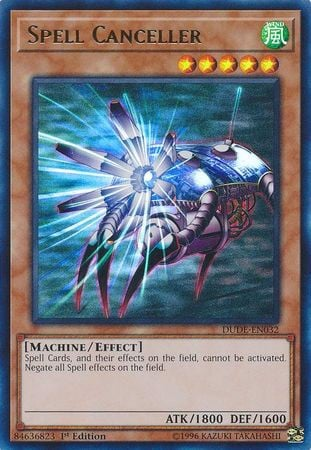 [ UK ] Spell Canceller - DUDE-EN032 - Ultra Rare 1st Edition