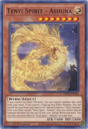 [ UK ] Tenyi Spirit - Ashuna - MP20-EN161 - Common 1st Edition