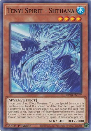 [ UK ] Tenyi Spirit - Shthana - MP20-EN107 - Common 1st Edition