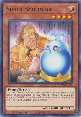 [ UK ] Spirit Sculptor - MP20-EN116 - Rare 1st Edition