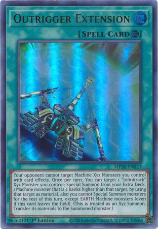 [ US ] Outrigger Extension - MP20-EN217 - Ultra Rare 1st Edition