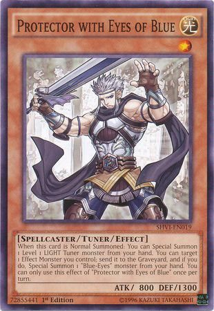[ US ] Protector with Eyes of Blue - SHVI-EN019 - Common 1st Edition