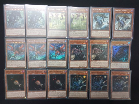 Big set DANGER TCG EN
