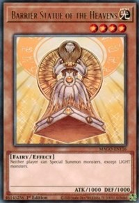 [ UK ] Barrier Statue of the Heavens - MAGO-EN116 - Rare 1st Edition