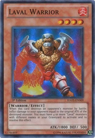 [ US ] Laval Warrior - HA05-EN009 - Super Rare 1st Edition