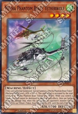 [ UK ] Mecha Phantom Beast Tetherwolf - SDPL-EN011 - Common