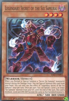[ UK ] Legendary Secret of the Six Samurai - SAST-EN093 - Common