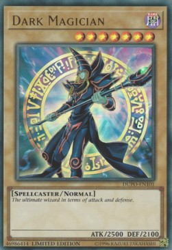 [ UK ] Dark Magician - DUPO-EN101 - Ultra Rare Limited Edition