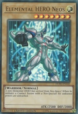 [ UK ] Elemental HERO Neos - DUPO-EN102 - Ultra Rare Limited Edition