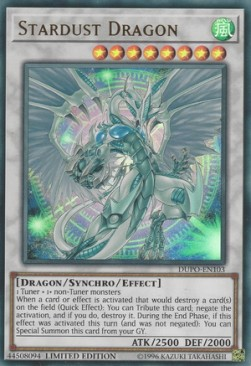 [ UK ] Stardust Dragon - DUPO-EN103 - Ultra Rare Limited Edition