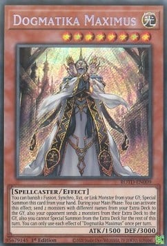 [ UK ] Dogmatika Maximus - ROTD-EN009 - Secret Rare 1st Edition