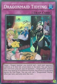 [ UK ] Dragonmaid Tidying - ROTD-EN077 - Super Rare 1st Edition