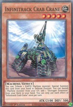 [ UK ] Infinitrack Crab Crane - MP20-EN208 - Common 1st Edition